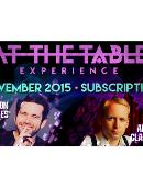 At The Table - November 2015 Live lecture
