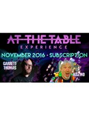 At The Table - November 2016  magic by Garrett Thomas and Kozmo
