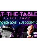 At the Table - October 2015 Live lecture