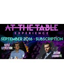 At The Table - September 2016 Live lecture