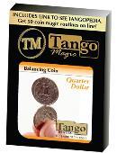 Balancing Coin - Quarter Dollar Gimmicked coin