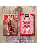 Bicycle AEsir Viking Gods Playing Cards - Red Deck of cards