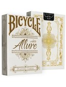 Bicycle Allure White Deck Deck of cards