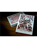 Bicycle Asura Red Deck Deck of cards