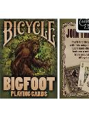 Bicycle Bigfoot Playing Cards Deck of cards