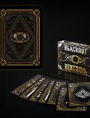 Bicycle Blackout Kingdom Deck (Limited Edition Side Tuck Case) Deck of cards