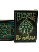 Bicycle Brimstone Deck (Aqua) Deck of cards