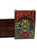 Bicycle Eerie Deck (Red) Deck of cards