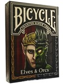Bicycle Elves and Orcs Deck Deck of cards