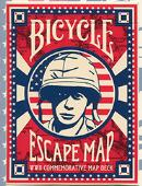 Bicycle Escape Map Playing Cards Deck of cards