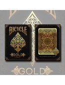 Bicycle Gold Playing Cards Deck of cards