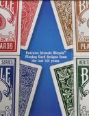 Bicycle Heritage Playing Cards (4 Deck Set) Deck of cards