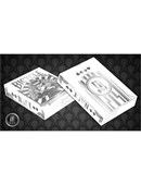 Bicycle Made Silver Deck Deck of cards