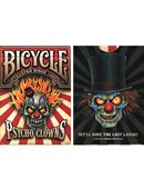 Bicycle Psycho Clowns Playing Card Deck of cards