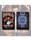 Bicycle Pyromaniac Fire and Ice Deck Deck of cards