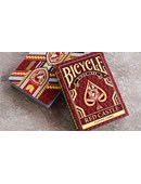 Bicycle Red Castle Playing Cards Deck of cards