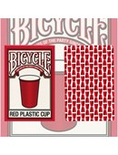 Bicycle Red Plastic Cup Playing Cards Deck of cards