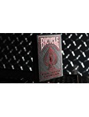 Bicycle Rider Back Crimson Luxe  Version 2 Deck of cards