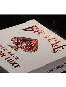 Bicycle Rider Back Crimson Luxe (Red) Deck of cards