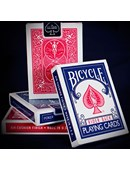 Bicycle Rider Back Playing Cards in Mixed Case Red/Blue Deck of cards