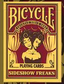 Bicycle Sideshow Freaks Playing Cards Deck of cards