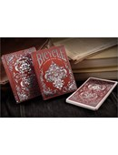Bicycle Spirit II Red MetalLuxe Playing Cards Deck of cards