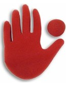 Big Red Hand Trick Accessory