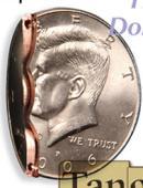 Bite Coin - Half Dollar - Premium Gimmicked coin