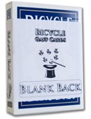 Blank Back Bicycle Cards Accessory