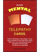 Blank Mental Telepathy Cards Trick