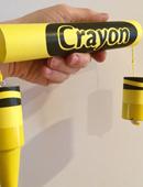 Breakaway Crayon - Yellow Trick