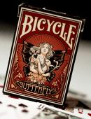 Butterfly Bicycle Deck Deck of cards