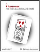 Cardiographic Lite RED CARD 5 of Diamonds Add-On Trick