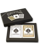 Bicycle Gold and Silver Playing Cards Set Trick