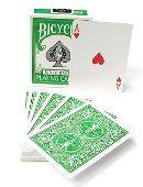 Bicycle Green Playing Cards Trick