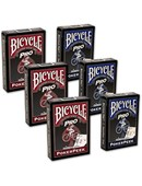 Bicycle Pro Poker Peek Playing Cards - 6 PACK  USPCC Deck of cards