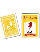 Dr. Leon Deck Playing Cards (Yellow) Deck of cards