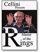 Cellini Lord & Master of Rings DVD