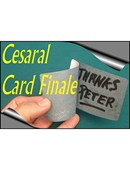 Cesaral Card Finale Trick