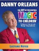 Children's Magic Lecture Notes Book