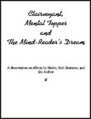 Clairvoyant, Mental Topper and The Mind-Reader's Dream Book