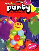 Clown Mini Balloon Column Accessory