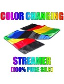 Color Changing Streamer 100% Silk
