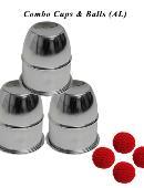 Combo Cups & Balls (Aluminium) Accessory