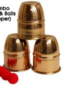 Combo Cups & Balls (Copper) Accessory