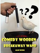 Comedy wooden breakaway wand Trick