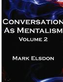 Conversation as Mentalism - Volume 2 - Book Book