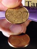 Copper and Brass - 5 Euro Cents/20 Euro Cents Gimmicked coin