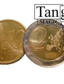 Copper and Silver - 2 Euros and 50 Euro Cents Gimmicked coin
