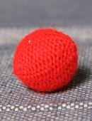 Crochet Ball .75 inches Accessory